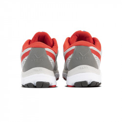 Dos chaussure running homme Transition MIF 2.3 gris-rouge