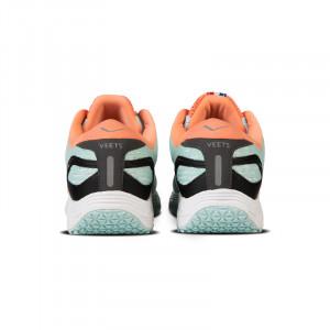 Dos chaussure running femme Veloce MIF 3 vert-corail