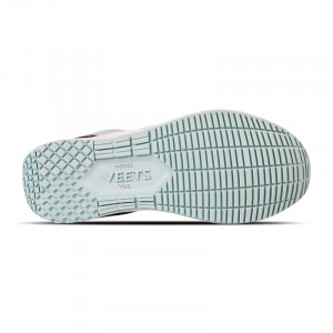 Semelle chaussure running femme Veloce MIF 3 vert-corail