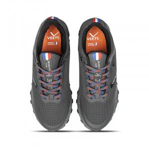 Lacets chaussure trail homme Veloce XTR MIF 3 noir-gris