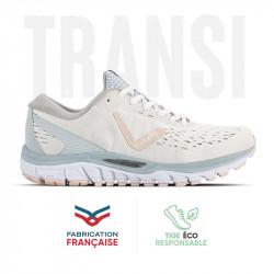 Chaussure running femme Transition MIF 3 blanc-rose